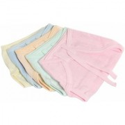 Tahiro MultiColour Cotton Nappies For Kids - Pack Of 5