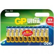 Gp Batteries Confezione 10 Batterie GP Ultra Plus Alcaline Stilo AA 15AUP/LR6