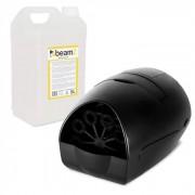 Beamz B100 portable Seifenblasenmaschine + 5l Beamz Seifenblasen-Fluid