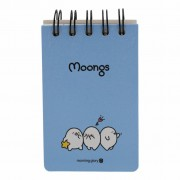 Moongs Moongs memoboek - small
