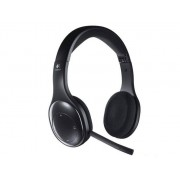 Logitech Słuchawki z mikrofonem Logitech H800 bezprzewodowe czarne