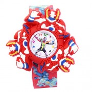 VITREND TM Power rangers Hand Toy Spinner & New Ana-long (multi) Watch - For Boys & Girls ( sent as per available colour)