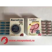 Maraton (20 caps) + Ladies dream (20 caps)