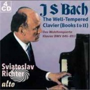 Video Delta Bach / Richter,Sviatoslav - Well-Tempered Clavier (Books I & Ii Complete) - CD