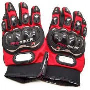 Ezzi Deals probiker gloves bike riding gloves RED (L)