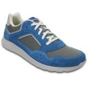 Crocs Kinsale Pacer Boat Shoes For Men(Blue)