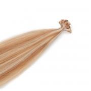 Rapunzel® Extensions Naturali Nail Hair Premium Liscio M7.4/8.0 Summer Blonde 40 cm