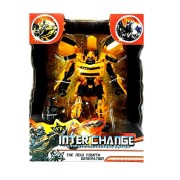 Halo Nation Trnsformers - Deform & Converts to Car - Manual Operating Robot in Disguise (Bumblebee 2 cm)