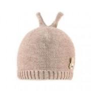 Caciula bebe-fetita cu urechi micute de iepuras C418-76 grej