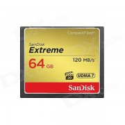 Sandisk Extreme Compact Flash de 64GB UDMA7 120mb / s-SDCFXS-064G