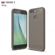 Huawei Nova 2 karbon mintás tok - SZÜRKE