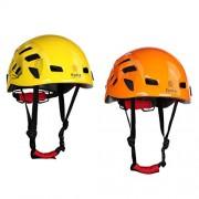 ELECTROPRIME 2pcs Safety Helmet Hard Hat for Rock Climbing Mountaineering Kayaking Rescue