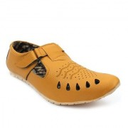 L N Shoes New Buckle strap Sandal for men Tan