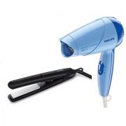 Philips Straightener HP8303 Hair Dryer HP8100 Combo