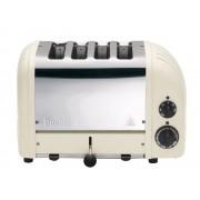 Dualit - 4 Slot Toaster 'NewGen' Leinwand weiß