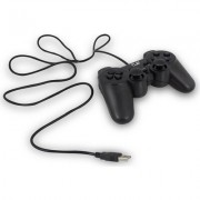 Жичен геймпад за PC Ewent PL3330, USB, Черен