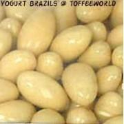 Carol Anne Yogurt Covered Coated Brazils Nuts