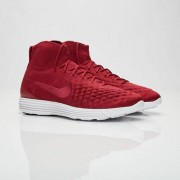 Nike Lunar Magista Ii Flyknit Fc Team Red/Team Red/White