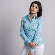 Női kék ing Willsoor mértani 8946