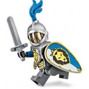 Lego Castle Kings Knight with Armor Minifigure Version 2 (2013)
