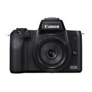 Canon EOS M50 + EF-M 15-45mm + EF-M 22mm - Zwart