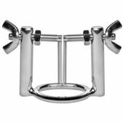 Metal hard anillo glande con prensa dilatador uretra