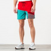 Aimé Leon Dore Zipper Pocket Shorts Mineral Red/ Tropical Green