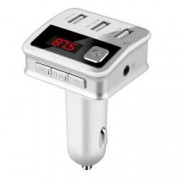 Modulator FM MP3 Player Handsfree display LED Bluetooth 4.2 + EDR 3 x USB