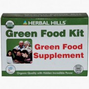 Pure Natural Green Food kit Health kit- Boosts energy---Improves immunity---Natural Superfood kit