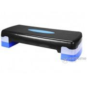 Steppad Avento, negru/albastru