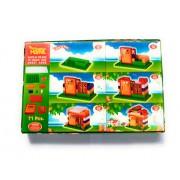 eNetworklink Kinder Blocks Senior My Sweet Home Colorful Interlocking Blocks for Kids