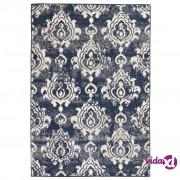 vidaXL Moderni tepih s uzorkom Paisley 120 x 170 cm bež/plavi