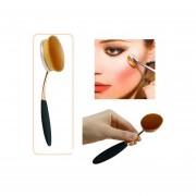 Cepillo De Maquillaje Ceja Oval-oro