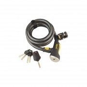 Candado Para Bicicleta Onguard Doberman 8027 Autoenrollable Cable 15mm
