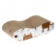 Tabla rascador de cartón Cat Lounge para gatos - 48 x 24 x 13 cm (L x An x Al)