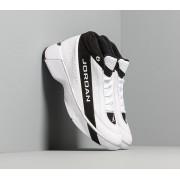 Jordan Team Showcase White/ White-Black-Metallic Silver
