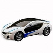 3D Led Light and Musical Car - White