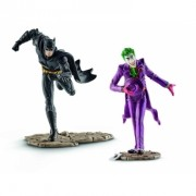 DC Comics Justice League Batman vs The Joker 10 cm