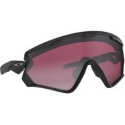 Oakley WIND JACKET 2.0 Sports Sunglass(Black)