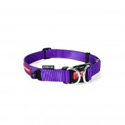 EzyDog Double Up Halsband - Halsband met dubbele ring - Paars - Size: Medium