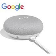 Google Home Mini - Chalk, Far-Field Voice
