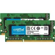 Crucial 16GB [2x8GB 1600MHz DDR3 CL11 1.35V SODIMM]