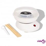 vidaXL Aparat za Šećernu Vunu 480 W Bijeli