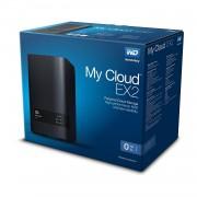 NAS WD MY CLOUD EX2 ULTRA 4TB/CON 2 DISCOS DE 2TB/2BAHIAS/1.3GHZ/1GB/1ETHERNET/2USB3.0/RAID 0-1