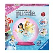 Puzzle 3D Printesele Disney, 72 piese