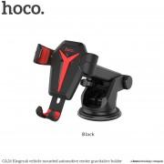 HOCO CA26 Universal Mobile Phone Soporte Coche Giratorio Flexible Con Ventosa -negro