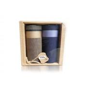 M51-4 Ffi textilzsebkendő 2db hullámkarton csomagolásban (ÖKO)