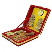 Shree Kuber Dhan Lakshmi Varsha Yantra (10 Items) for Wealth and Prosperity