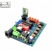 INVENTO 433Mhz Wireless RF Transmitter Receiver Board With HT12D HT12E upto 150 mtr range for DIY Projects