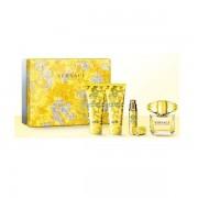 Versace Yellow Diamond Дамски Комплект Set - EdT 90 ml + b/lot 100 ml + sh/gel 100 ml + mini edt 10 ml